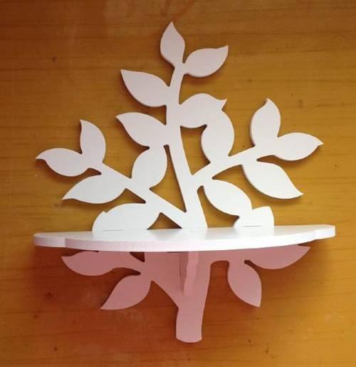 Elegant crafted wall shelf tree of life beboss for Tree of life bookshelf
